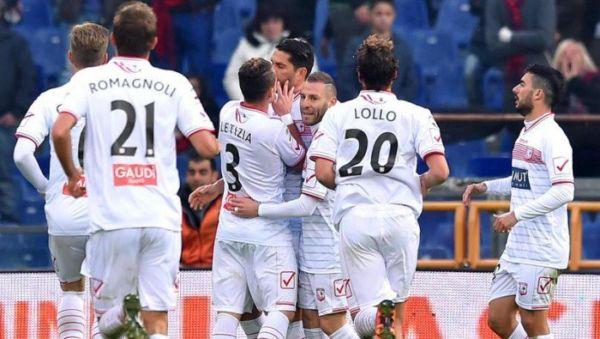 Carpi Udinese retrocessione serie b