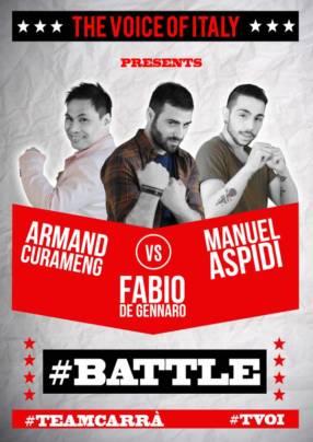 Manuel Aspidi Armand battle The Voice