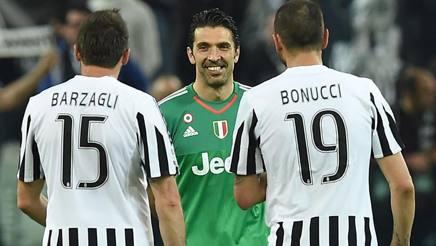 Buffon, Barzagli e Bonucci
