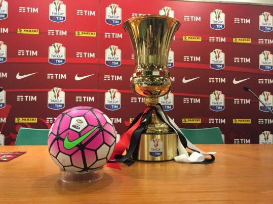 Coppa Italia 2016 Milan Juve