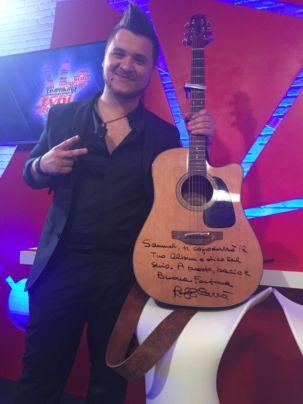 Samuel Pietrasanta promessa Carrà The Voice