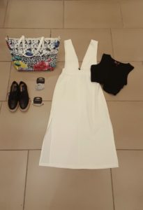 Outfit abito bianco - Gate21
