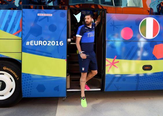 vigilia Italia Spagna Euro 2016 - Candreva