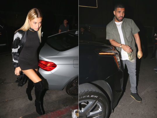 Drake e Hailey Baldwin