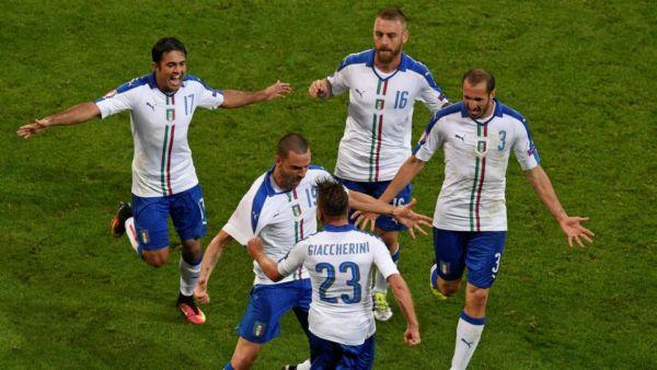 Cronaca Italia Belgio Euro 2016