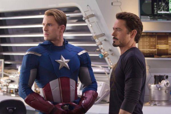 film Marvel - Captain America & Iron Man