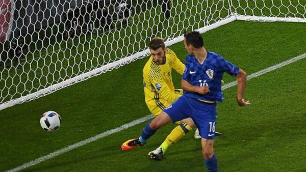 Nikola Kalinic Spagna Croazia Euro 2016