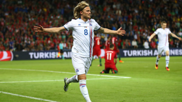 Euro 2016 Islanda Portogallo - birkir bjarnason