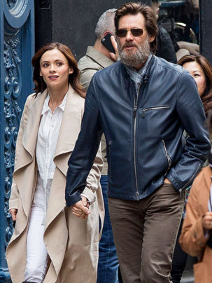 Cathriona White & Jim Carrey