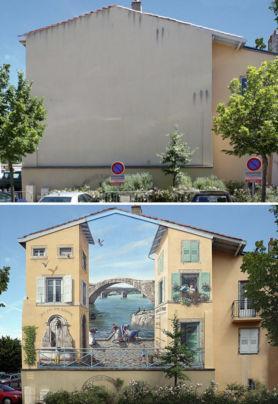Francia bellissimi murales artistici