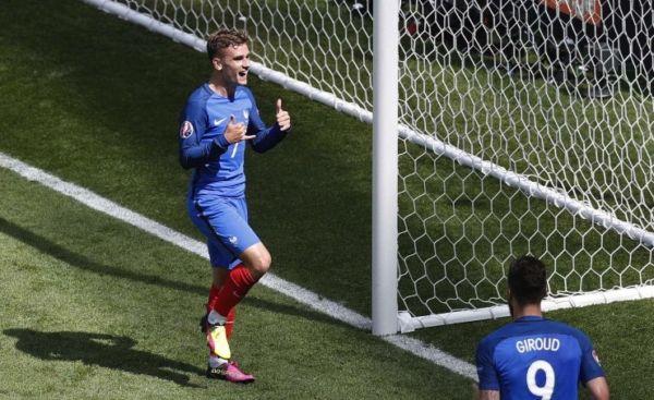 Griezmann Francia Germania Euro 2016