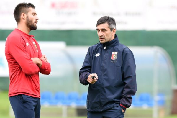 Juric Genoa ritiro estivo 2016