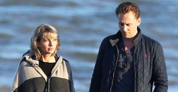 Taylor Swift e Tom Hiddleston mano nella mano