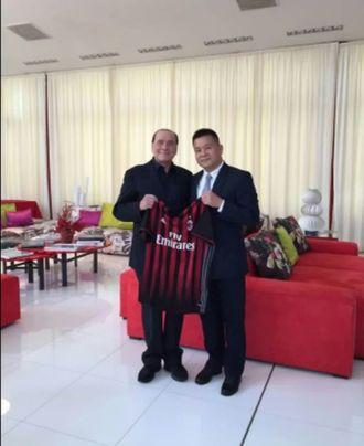 Milan ai cinesi. Berlusconi