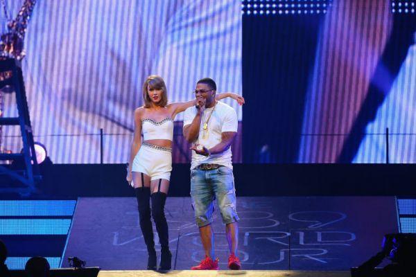 Nelly & Taylor Swift cantano Dilemma