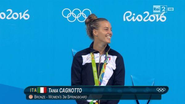 Tania Cagnotto bronzo Rio 2016