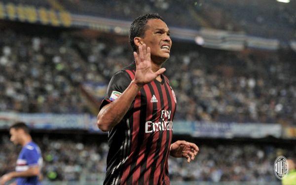 Sampdoria Milan 0 a 1 Carlos Bacca