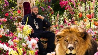 DJ Khaled nella cover di Major Key, l'album