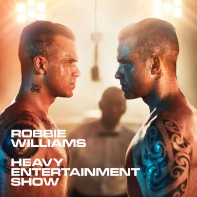 Robbie Williams - Heavy Entertainment Show Album Cover