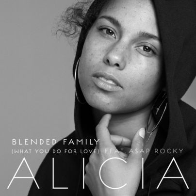 Alicia Keys singolo Blended Family - cover