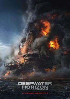 Recensione Deepwater - Inferno sull'oceano - Locandina Film