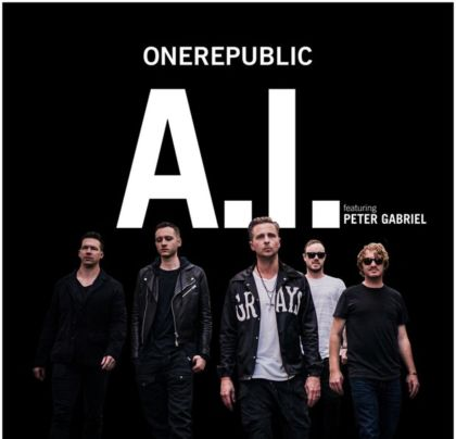 OneRepublic A.I audio - la cover del singolo
