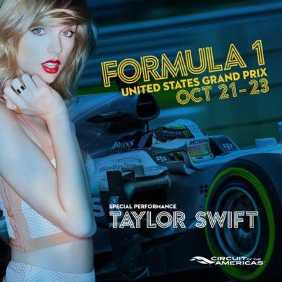 Taylor Swift Fifteen Grand Premio 22 ottobre 2016