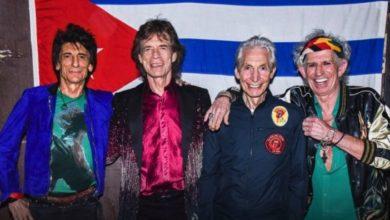 foto della band The Rolling Stones nel 2016.