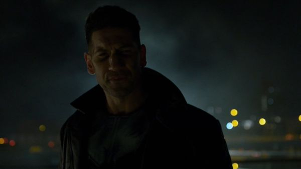 prime foto direttamente dal film The Punisher,