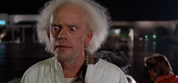 Doc Brown ospite in The Big Bang Theory