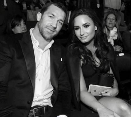 Demi Lovato e Luke Rockhold