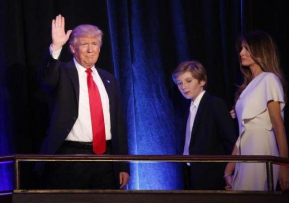 menu inaugurazione Donald Trump
