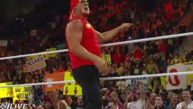 Hulk Hogan a Wrestlemania