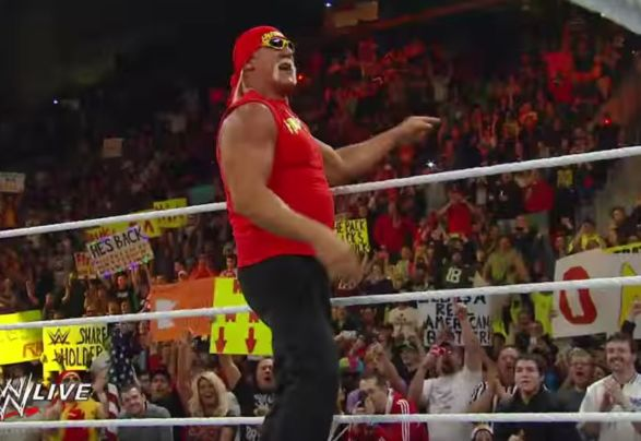 Hulk Hogan a Wrestlemania 33