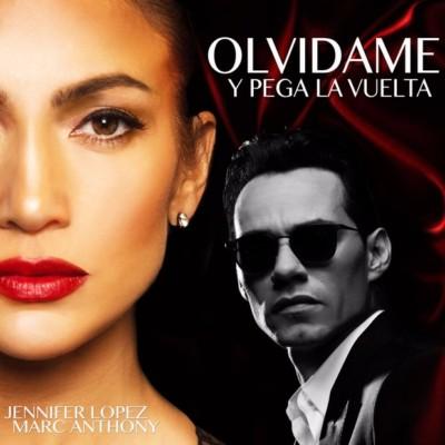 Jennifer Lopez e Marc Anthony in Olvidame Y Pega La Vuelta