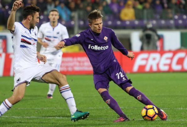 Fiorentina Sampdoria 1 1 Bernardeschi Muriel
