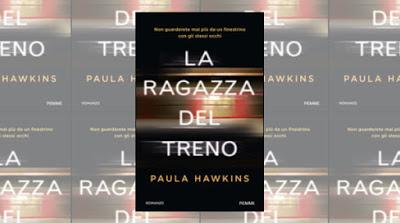 copertina del libro La ragazza del treno - Paula Hawkins