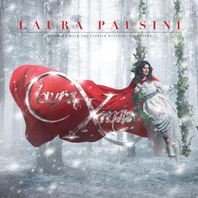 Laura Pausini nella cover di Laura Xmas