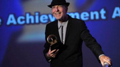 Leonard Cohen Grammy alla carriera nel 2010
