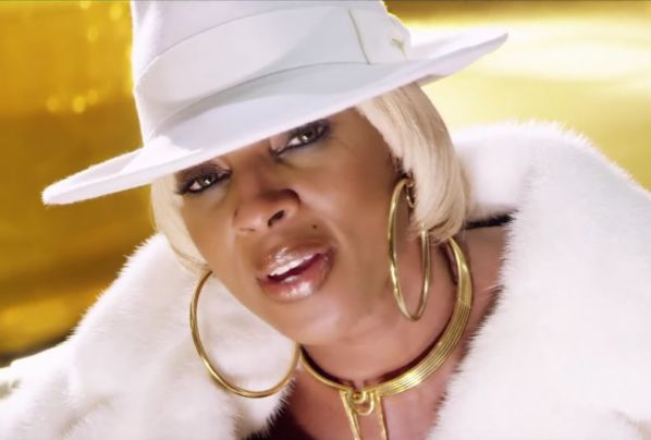 Mary J. Blige video Thick of It