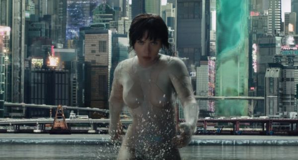 Scarlett Johansson trailer Ghost in the Shell