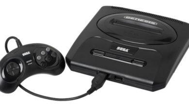 Foto del Sega Mega Drive
