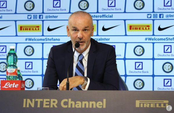 Stefano Pioli presentazione allenatore Inter