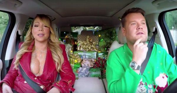 All I Want For Christmas Is You al Carpool Karaoke