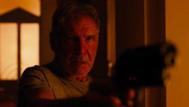Harrison Ford in Blade Runner 2049.