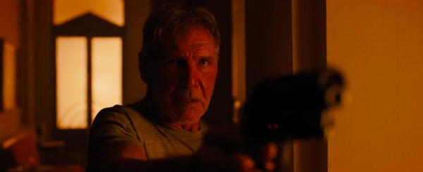 Harrison Ford in Blade Runner 2049.