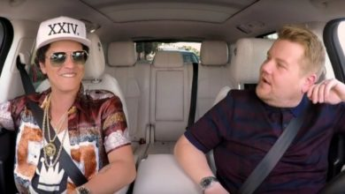 Bruno Mars al Carpool Karaoke