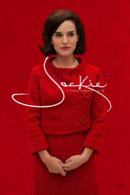 La locandina del film Jackie. - migliori film del 2016 - favoriti Oscar 2017