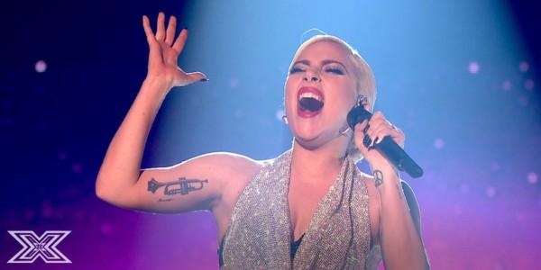 Lady Gaga X Factor UK 4 dicembre 2016