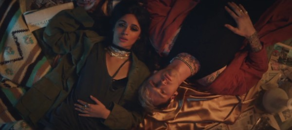 Machine Gun Kelly Camila Cabello video Bad Things
